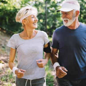 Adults at high risk of knee arthritis may engage in vigorous activities