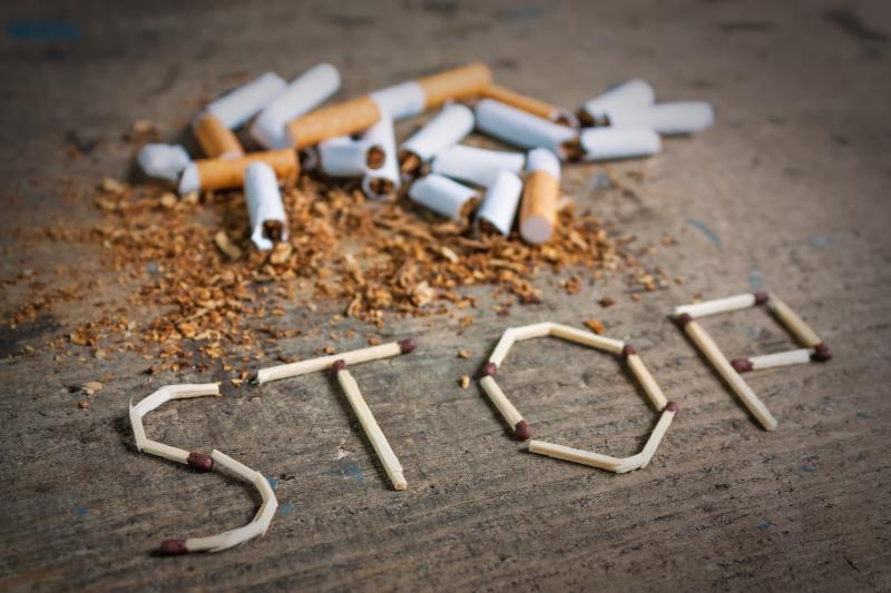 Quitting smoking cuts risk of recurrent cardiovascular