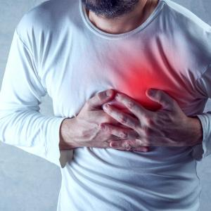 Decompensated diabetic patients with type 2 MI at risk for mortality, MACE
