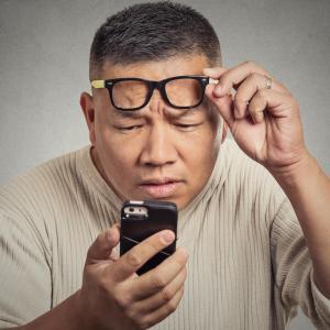 High myopia modifies OCT measurements