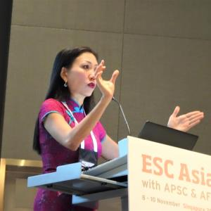 ESC Asia: Prof Carolyn Lam on sex differences, forgotten middle child of HF