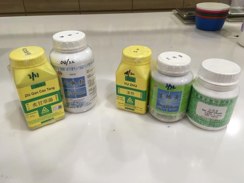 Sunway TCM herbal powders A