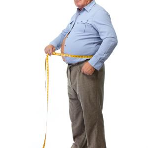 Big abdominal girth portends recurrent MI risk in men