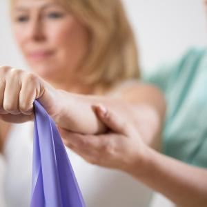 Progressive resistance training with elastic bands benefits postmenopausal women