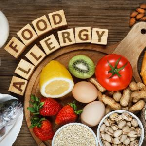 Food allergy appears in adulthood too, not only in childhood