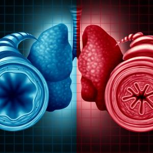 Single-inhaler triple therapy combo improves FEV1 in patients with asthma