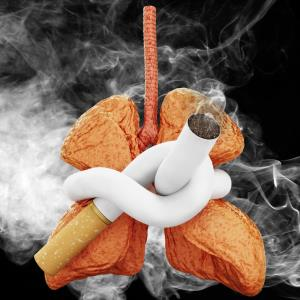 Lung damage persists decades after smoking cessation