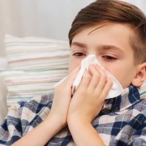 Increased rhinitis severity in kids liked to more severe sleep apnoea
