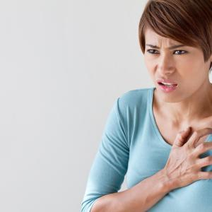 Patient factors associated with chest pain, breathlessness in CVD patients