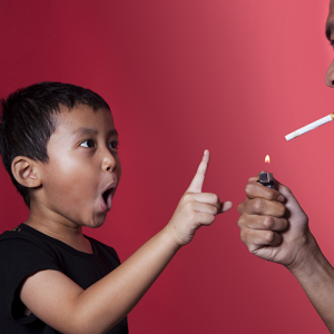 Exposure to cigarette smoke cuts desmopressin efficacy against PMNE in kids