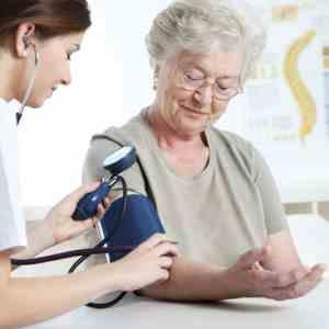 Thiazide diuretics may be used in first-line treatment of hypertension in nursing home residents