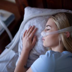 Sleep apnoea may increase, and PAP use decrease, COVID-19 risk