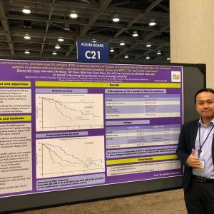 Real-world study: Better outcomes with earlier use of enzalutamide in Chinese mCRPC patients